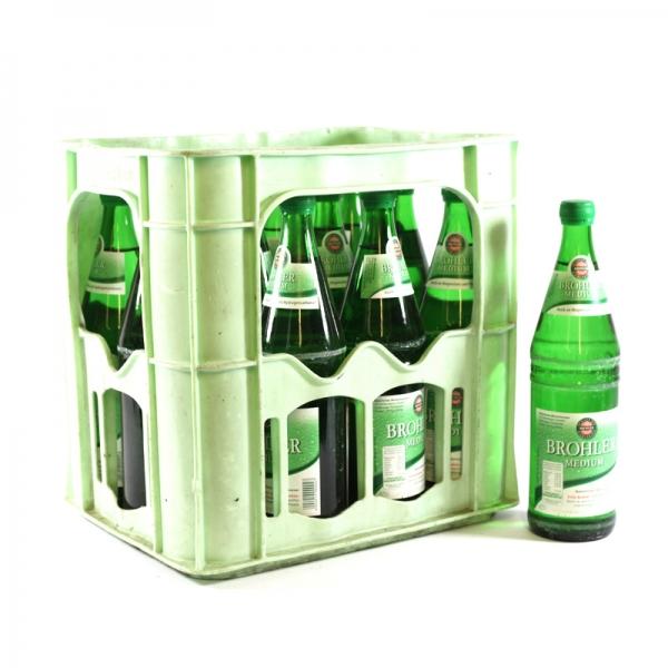 Brohler Medium 12x0,75l Glas (+Pfand 3,30€)