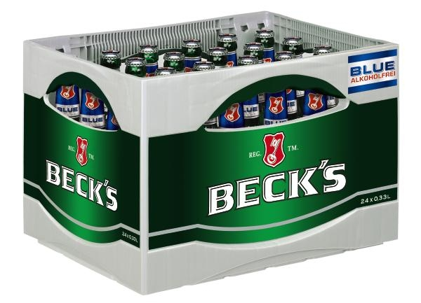Becks Alkoholfrei 24x0,33l (+Pfand 3,42€)