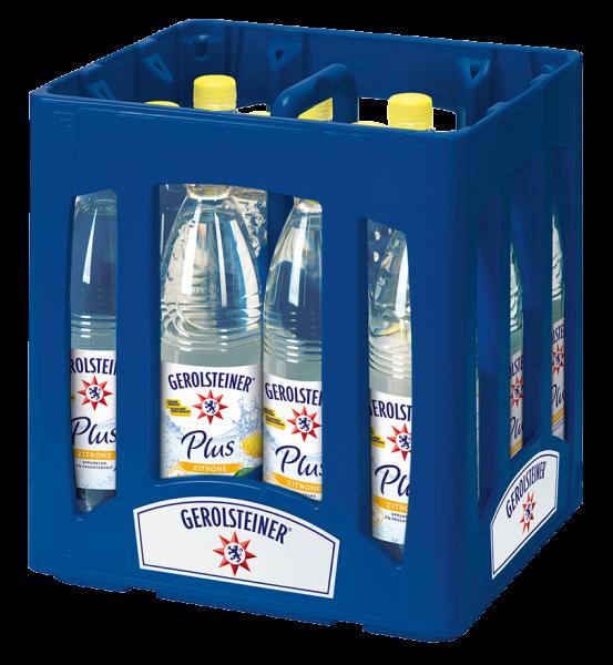 Gerolsteiner Plus Zitrone 12x0,75l PET (+Pfand 3,30€)