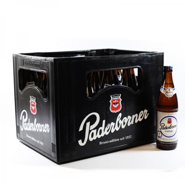 Paderborner Export 20x0,5l (+3,10€ Pfand)