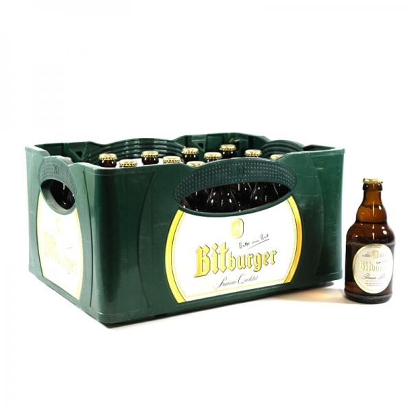 Bitburger Pils Stubbi 20x0,33l (+3,10€ Pfand)