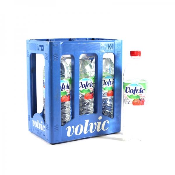 Volvic Touch Rote Früchte 6x1,5l PET (+Pfand 3,00€)