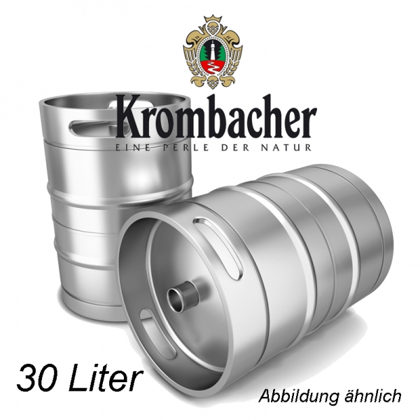 Krombacher 30 L Fassbier (+ 30,00€ Pfand)