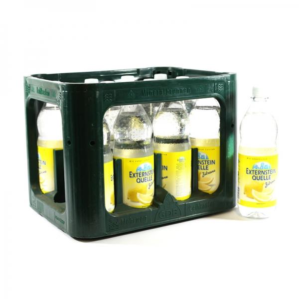 Externstein Zitrone 12x1l PET (+3,30€ Pfand)