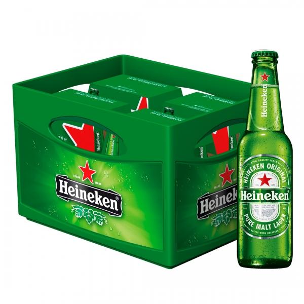 Heineken 24x0,33l (+3,42€ Pfand)