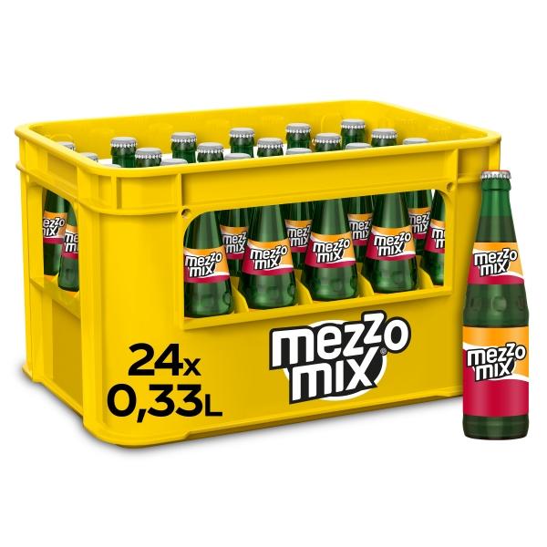 Mezzo Mix 24x0,33l Glas (+Pfand 5,10€)