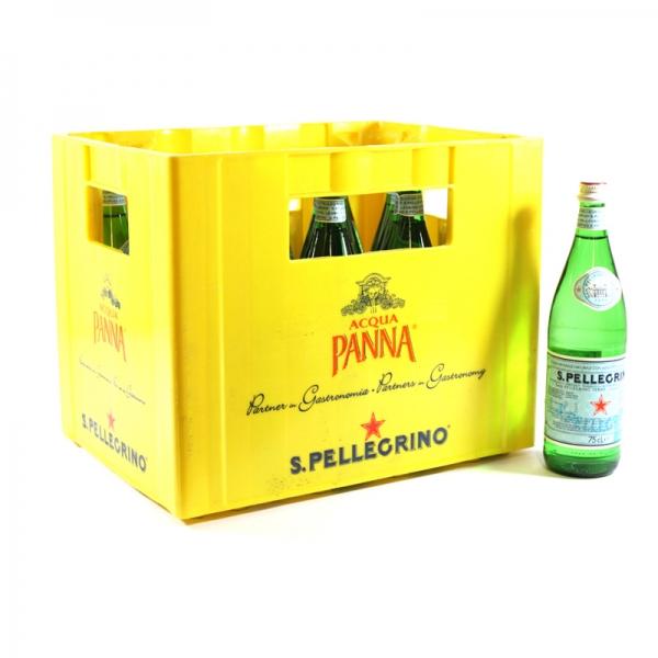 San Pellegrino 12x0,75l Glas (+3,90€ Pfand)