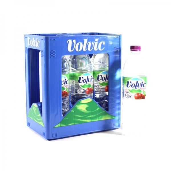 Volvic Touch Kirsche 6x1,5l PET (+Pfand 3,00€)