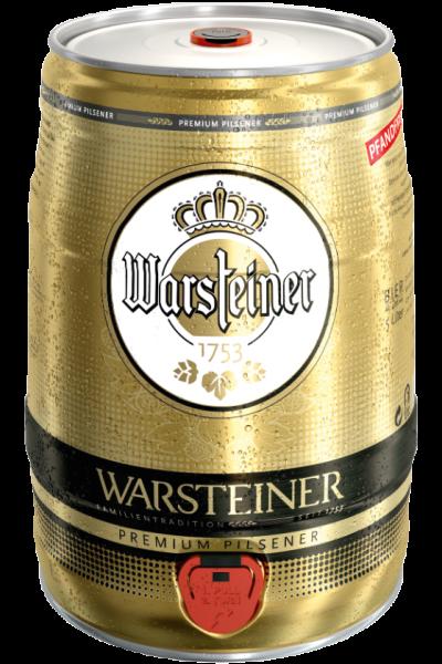 Warsteiner 5L Dose