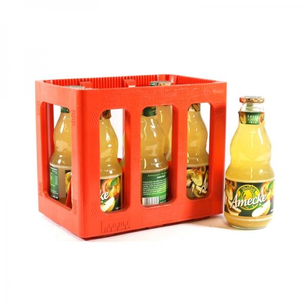 Ameckes Apfelsaft Trüb 6x0.75l Glas (+Pfand 2,40€)