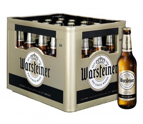 Warsteiner Pils 20x0,5l (+Pfand 3,10€)