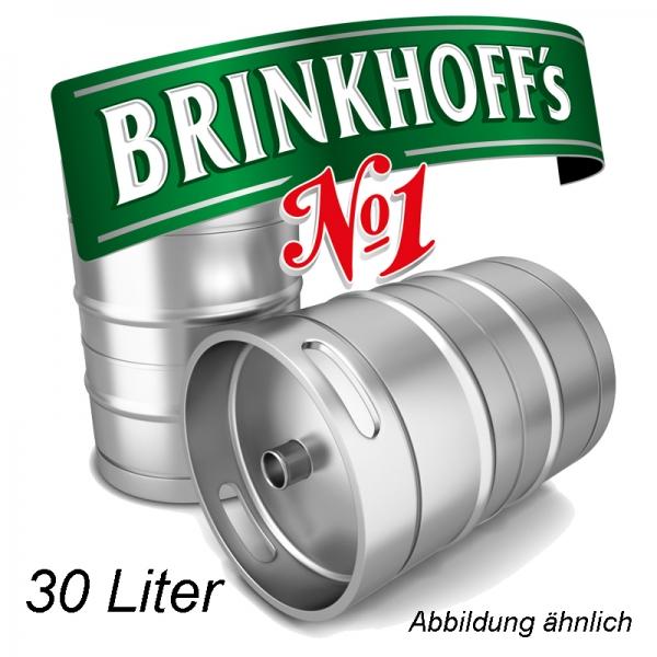 Brinkhoff`s No.1 30 L Fassbier (+ 30,00€ Pfand)