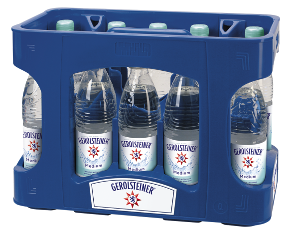 Gerolsteiner Medium 12x0,5l PET (+Pfand 4,50€)