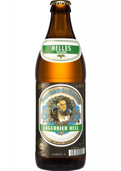Augustiner Lagerbier Hell 20x0,5l (+Pfand 3,10€)