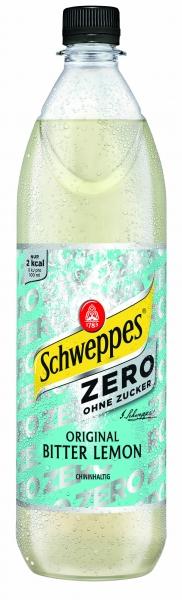 Schweppes Bitter Lemon Zero 6x1l PET (+Pfand 2,40€)