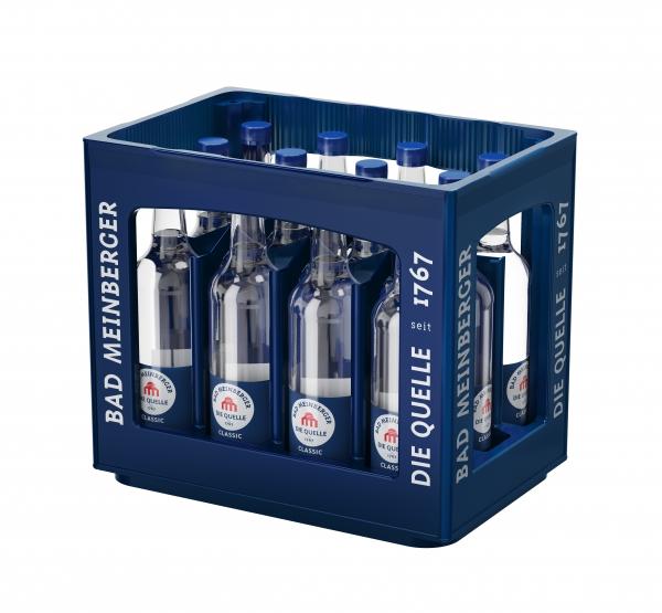 Bad Meinberger Classic 12x0,75l Glas (+Pfand 3,30€)