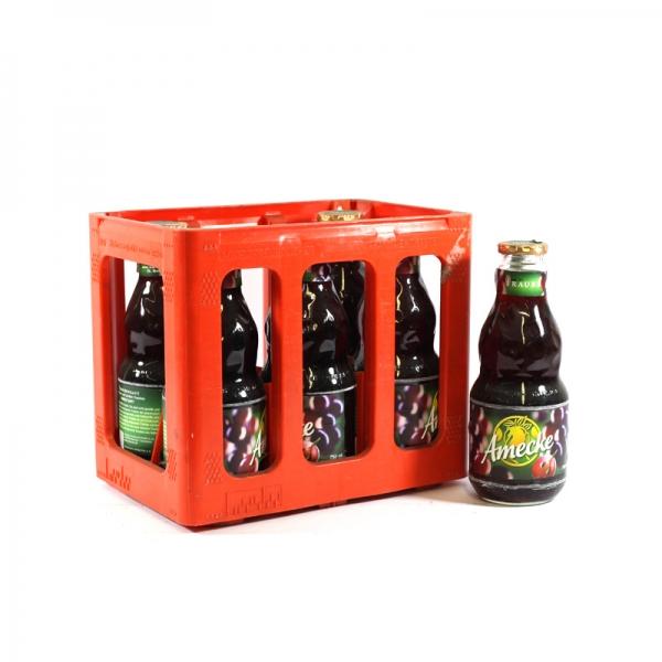 Ameckes Traubensaft 6x0.75l Glas (+Pfand 2,40€)