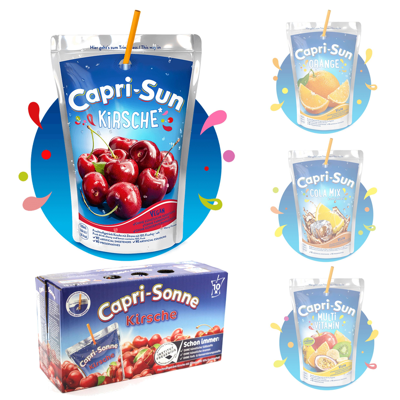 Capri Sun 20er Pack diverse Sorten