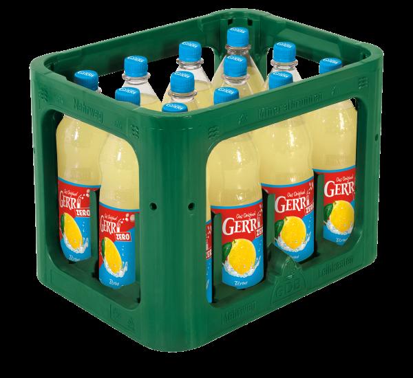 Gerri Zitrone Trüb Zero 12x1l PET (+Pfand 3,30€)