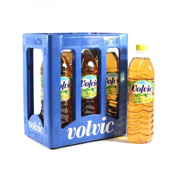 Volvic Eistee Zitrone 6x1,5l PET (+Pfand 3,00€)