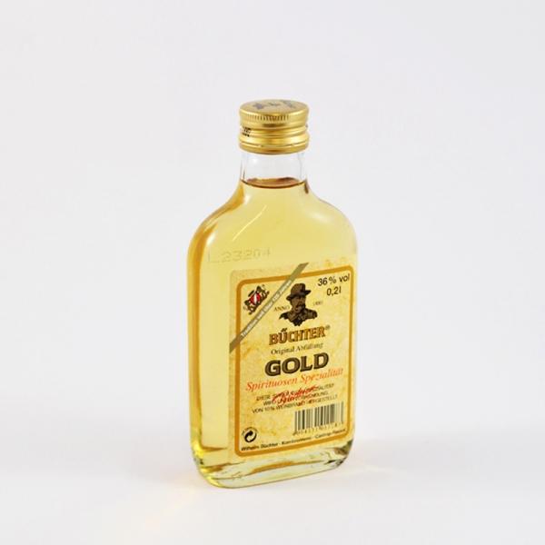 Büchter Gold 0,2L 36%