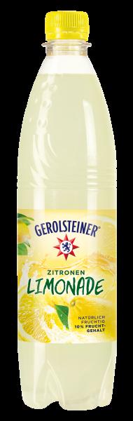 Gerolsteiner Zitronen Limonade 0,75l PET (+Pfand 3,30€)