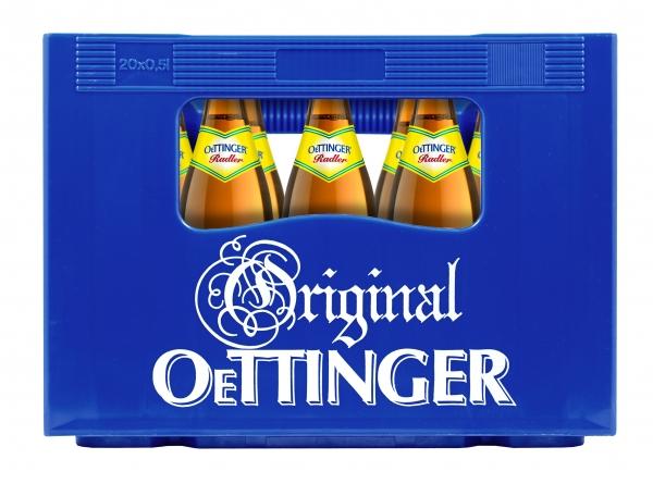 Oettinger Radler 20x0,5l (+Pfand 3,10€)
