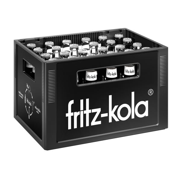 Fritz Cola ohne Zucker 24x0,33l (+Pfand 3,42€)