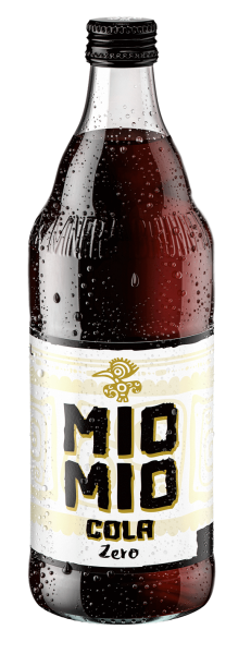 Mio Mio Cola Zero 12x0,5l GLAS (+3,30€ Pfand)