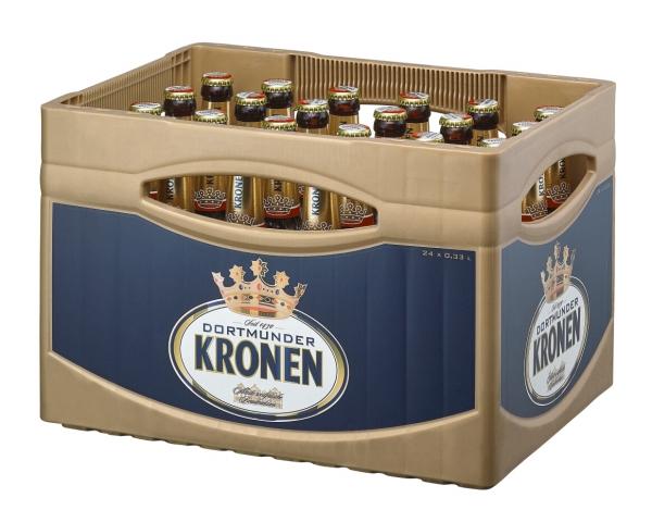 Dortmund Kronen Export 24x0,33l (+Pfand 3,42€)