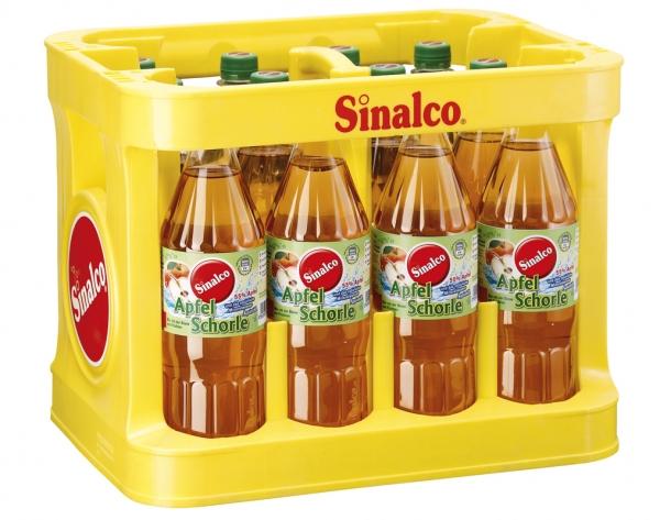Sinalco Apfelschorle 12x1l PET (+Pfand 3,30€)