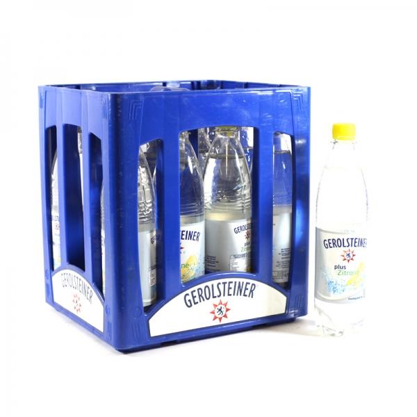 Gerolsteiner Zitrone 12x0,75l PET (+Pfand 3,30€)