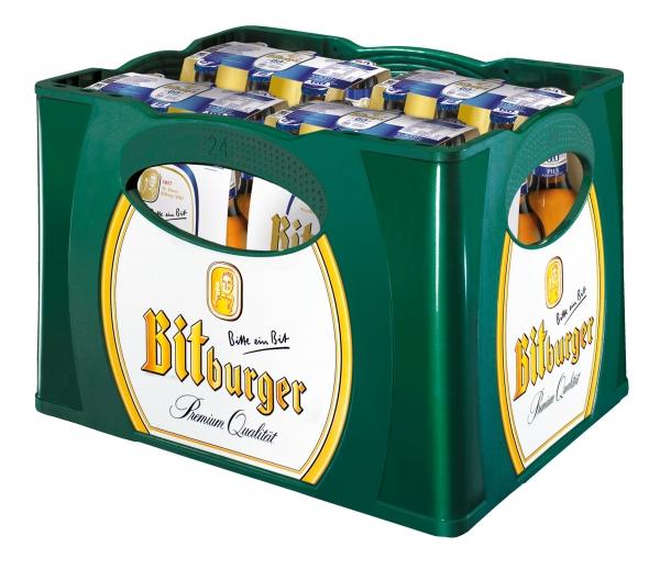 Bitburger Alkoholfrei 0,00% 24x0,33l (+Pfand 3,42€)