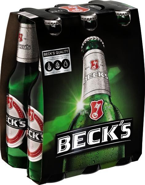 Becks Sorten 6x0,33L (+0,48€ Pfand)