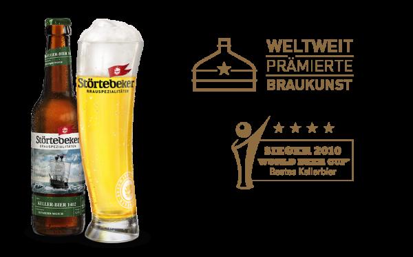 Störtebeker Bio Keller Bier 1402 20x0,5l (+Pfand 3,10€)