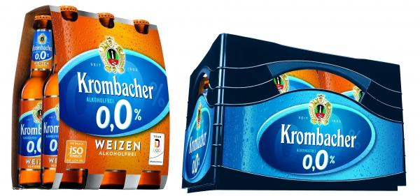 Krombacher Weizen Alkoholfrei 24x0,33l (+Pfand 3,42€)