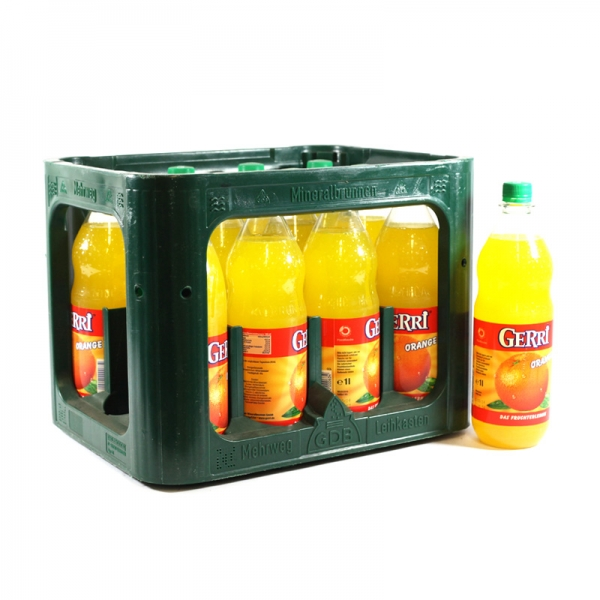 Gerri Orange 12x1l PET (+Pfand 3,30€)