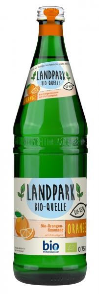 Landpark Bio Orangenlimonade 12x0,75l Glas (+Pfand 3,30€)