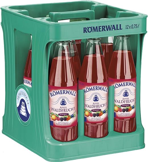 Römerwall Apfel-Waldfrucht-Schorle | 12x0,75l PET Mehrweg (+Pfand 3,30€)