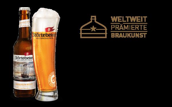 Störtebeker Bio Weizen Bernstein Alkoholfrei 20x0,5l (+Pfand 3,10€)