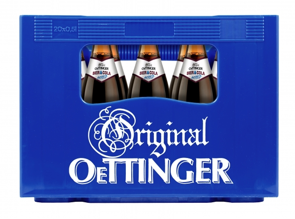 Oettinger Cola 20x0,5l (+Pfand 3,10€)