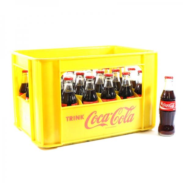Coca Cola 24x0,2l Glas (+Pfand 5,10€)