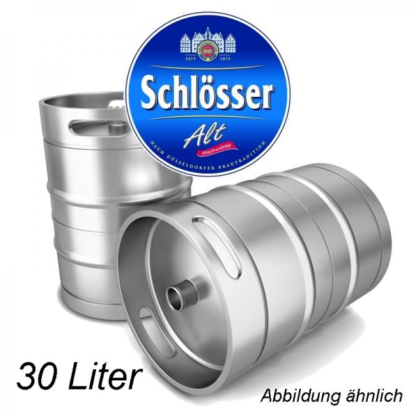 Schlösser Alt 30 L Fassbier (+ 30,00€ Pfand)