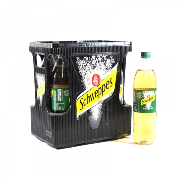 Schweppes Ginger Ale 6x1l PET (+Pfand 2,40€)