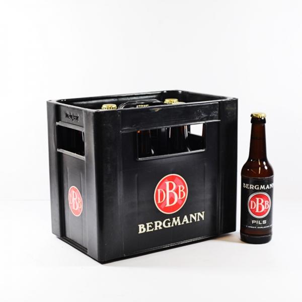 Bergmann Pils 10x0,33l (+2,30€ Pfand)