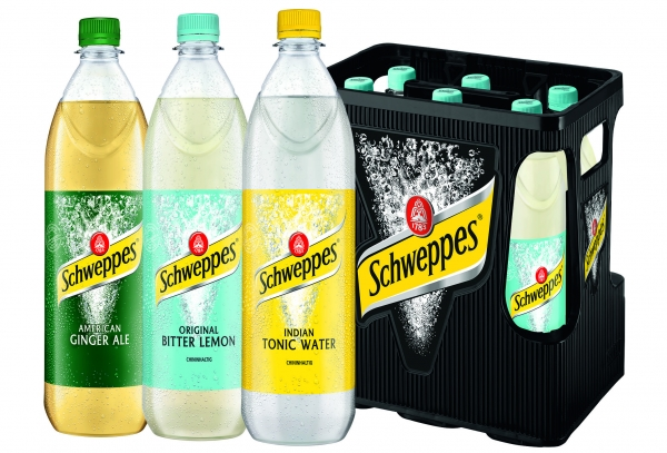 Schweppes Bitter Lemon 6x1l PET (+Pfand 2,40€)