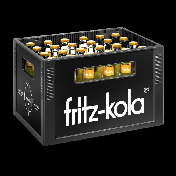 Fritz Zitrone 24x0,33l (+Pfand 3,42€)