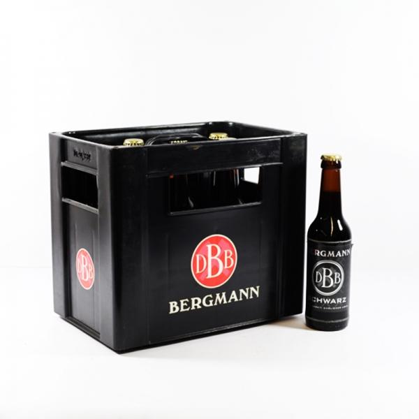 Bergmann Schwarzbier 10x0,33l (+2,30€ Pfand)