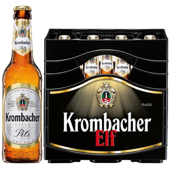 Krombacher Pils ELF 11x0,5l (+Pfand 2,38€)