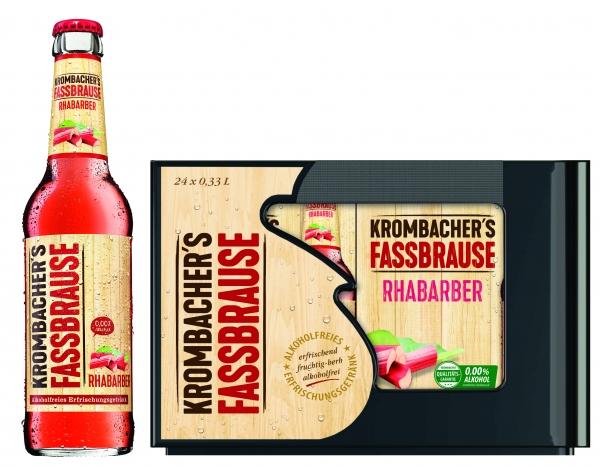 Krombacher Fassbrause Rhabarber 24x0,33L (+ Pfand 3,42€)